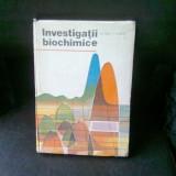 INVESTIGATII BIOCHIMICE - GH. NUTA