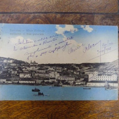 Balcic, carte postala ilustrata 1913 - Harta Europei