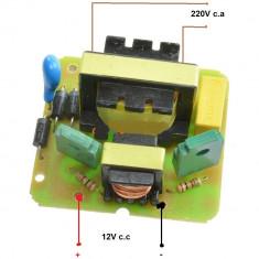 INVERTOR 35W placa de baza invertor de 35W transforma si ridica 12V la 220V