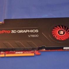 Placa video ATI FirePro V7800 2GB DDR5 pentru editare grafica, workstation - Placa video PC ATI Technologies, PCI Express