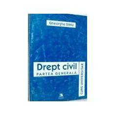 Gheorghe Dinu - Drept civil - Partea generala
