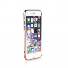 Husa Iphone 6 Plus, 6S Plus-Iberry 3in1 Gold Rose