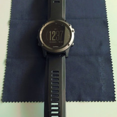 Ceas GPS Multisport Garmin Fenix 3 HR Sapphire (Wrist HR), Garantie