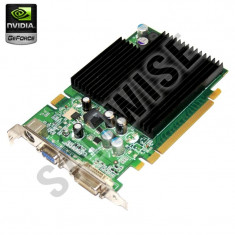 Placa video nVidia GeForce 7600GS 256MB DDR2 128-Bit, DVI, VGA, TV-Out GARANTIE! - Placa video PC NVIDIA, PCI Express