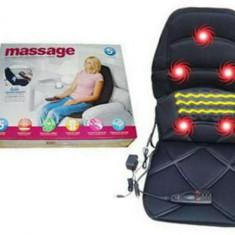Husa scaun pentru masaj cu telecomanda - Incalzire Scaun Auto