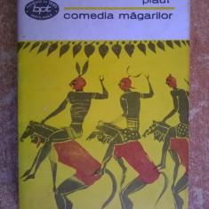 Plaut – Comedia magarilor - Carte Teatru