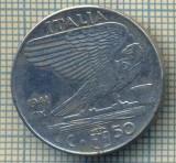 10392 MONEDA - ITALIA -50 CENTESIMI-anul 1941 XIX-MAGNETIC-starea care se vede, Africa