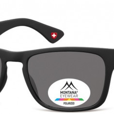 Ochelari de soare unisex Montana Eyewear MP39 black / smoke lenses MP39 - Ochelari de soare Polaroid