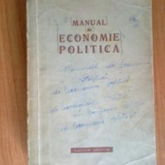 N5 Manual De Economie Politica - Carte Economie Politica