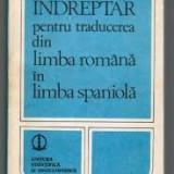 Indreptar Pentru Traducerea Din Limba Romana In Limba Spaniola