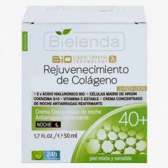 BIOTECH 7D Crema de noapte cu Colagen 40+ 50ml, Bielenda