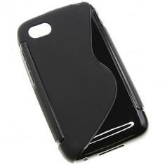 Husa BlackBerry Q5 TPU S-LINE Neagra - Husa Telefon Blackberry, Negru, Gel TPU, Fara snur, Carcasa