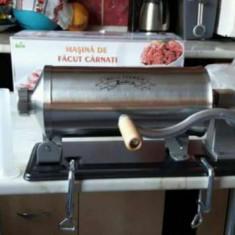Mașina de făcut cârnați, 4 kg din inox