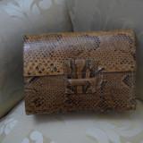Geanta Piele naturala de Sarpe model vintage - Geanta vintage
