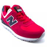 Adidasi New Balance rosu - Adidasi barbati New Balance, Marime: 41, 42, 44, Culoare: Din imagine, Textil