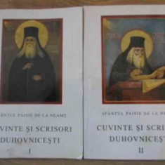 Cuvinte Si Scrisori Duhovnicesti Vol.1-2 - Sfantul Paisie De La Neamt, 394839 - Carti ortodoxe