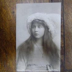 A. S. R. Printesa Maria, Colectia A. Brand, carte postala - Harta Europei
