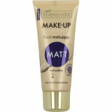 MAKE UP ACADEMIE Fond de Ten Matifiant Natural 30g, Bielenda