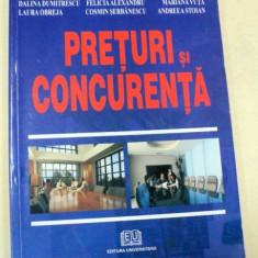 PRETURI SI CONCURENTA BUCURESTI 2006-TATIANA MOSTEANU - Carte Marketing
