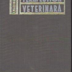 I. MARINESCU - TERAPEUTICA VETERINARA - Carte Medicina veterinara