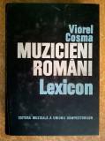 Viorel Cosma – Muzicieni romani Lexicon