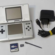 Consola Nintendo DS phat + card modare + card 2 Gb plin cu jocuri Mario Zelda