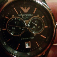 Replică ceas bărbătesc Emporio Armani Chronograph, Quartz