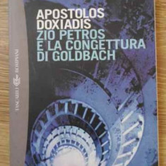 Zio Petros E La Congettura Di Goldbach - Apostolos Doxiadis, 394645 - Carte in italiana