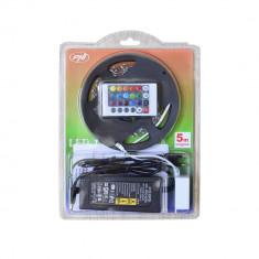 Resigilat : Banda LED PNI D-Light 60RGB flexibila de interior 60 leduri/m 12V 5m c - Corp de iluminat