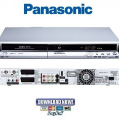 Panasonic Dmr-Ex75 Dvd Recorder /hdd 160Gb HDMI, USB, tuner tv - DVD Recordere Panasonic, DVD RW