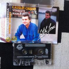 Catalin Crisan vorbeste marea caseta audio muzica pop slagare usoara roton, Casete audio
