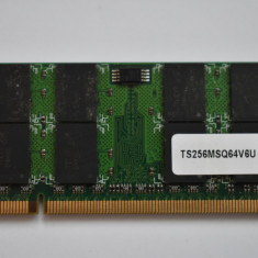 Memorie Laptop Transcend 2GB 200-Pin DDR2 SO-DIMM DDR2 667 (PC2 5300) - Memorie RAM laptop