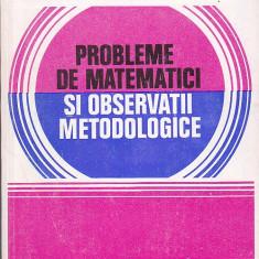 C. UDRISTE, C. BUCUR - PROBLEME DE MATEMATICI SI OBSERVATII METODOLOGICE