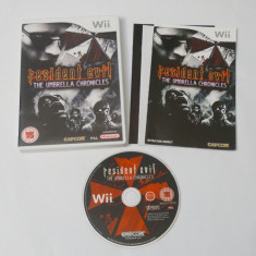 Joc Nintendo Wii - Resident Evil The Umbrella Chronicles - Jocuri WII Capcom, Shooting, 16+, Single player