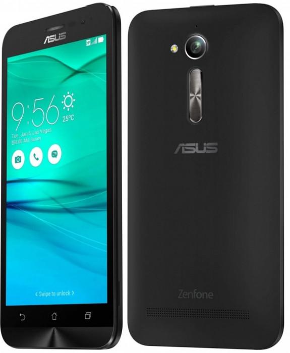 Asus ZenFone Go ZB500KG Dual Sim Charcoal Black foto mare