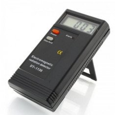 DETECTOR de Radiatii Electromagnetice EMF Masura unde DT-1130 baterie inclusa