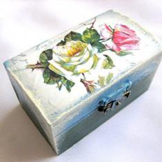 Cutie din lemn natural 28138 - Cutie Bijuterii