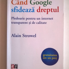 Alain Strowel - Cand Google sfideaza dreptul
