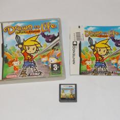 Joc consola Nintendo DS - Drawn to Life - complet carcasa si manual - Jocuri Nintendo DS Altele, Actiune, Toate varstele, Single player
