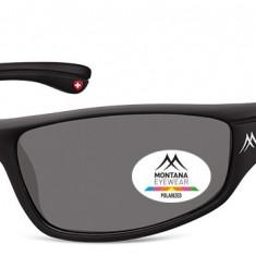 Ochelari de soare sport barbati Montana Eyewear SP309 black / smoke lenses SP309 - Ochelari de soare Polaroid