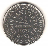 SV * Olanda 2 1/2 GULDEN 1979 < Unirea de la Utrecht 1579 > XF+ / -AUNC, America Centrala si de Sud, Nichel