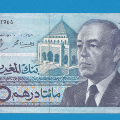 Maroc 200 dirhams 1987 3 UNC - bancnota africa