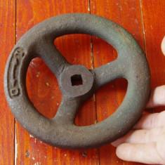 Scule / unelte vechi - Rozeta / Roata actionare robinet !!! - Metal/Fonta