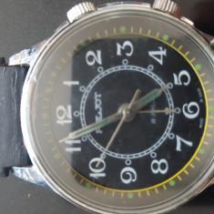 Ceas mecanic cu alarma Poljot 18 jewels - Ceas barbatesc Poljot, Mecanic-Manual