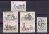 ROMANIA  1968  LP 686   MONUMENTE ISTORICE  SERIE MNH