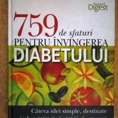 {Reader's Digest} 759 de sfaturi pentru invingerea diabetului