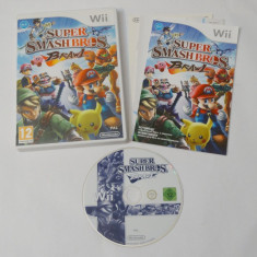 Joc Nintendo Wii - Super Smash Bros Brawl - Jocuri WII U, Actiune, 12+, Single player