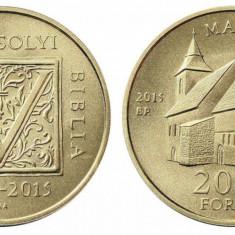 Ungaria 2015 - 2000 forint, biblia Vizsoly UNC