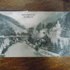 Baile Herculane, Vila Elisabeta, destinatar Henrieta (Riri) Delavrancea-Gibory - Harta Europei