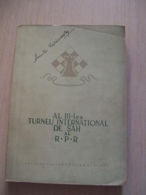 AL III-LEA TURNEU INTERNATIONAL DE SAH AL R.P,R foto